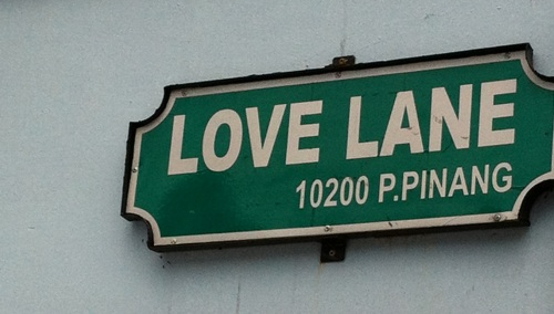 Love this but it should be called Lust Lane since it got its name because this was where the wealthy Chinese men in Penang kept their mistresses.